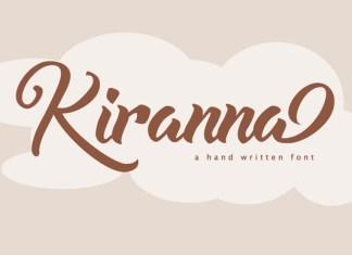 Kiranna Font