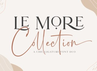 Le More Collection Font