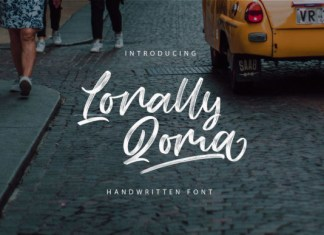 Lonally Qoma Font
