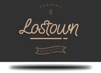 Lostown Font