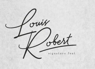 Louis Robert Font