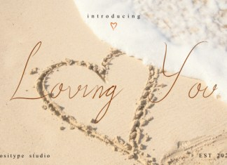 Loving You Font