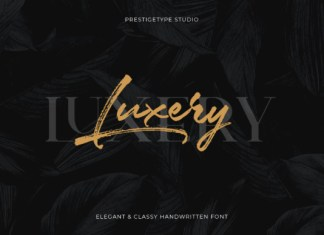 Luxery Font