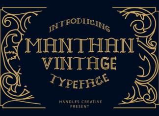 Manthan Font