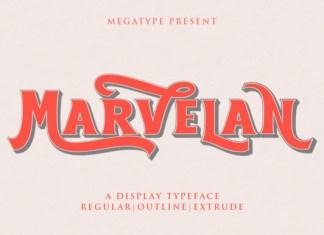 Marvelan Font
