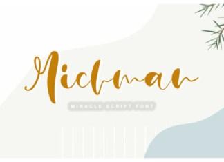 Michman Font