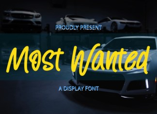 Most Wanted Font
