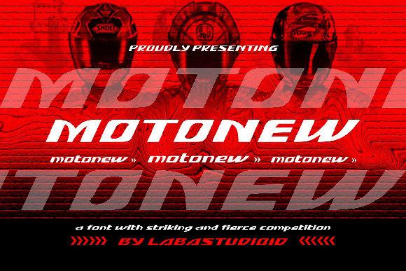 MotoNew Font