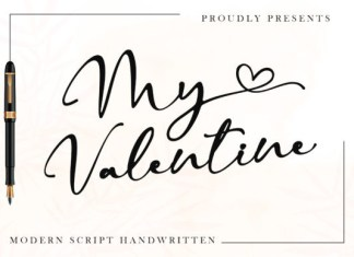 My Valentine Font