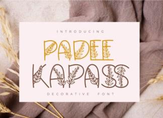 Padee Kapass Font
