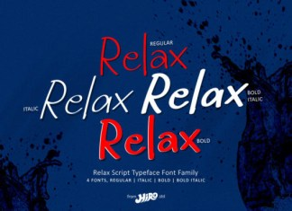 Relax Font