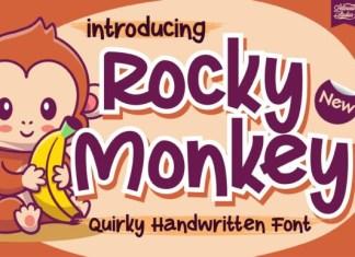 Rocky Monkey Font