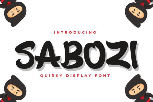 Sabozi Font