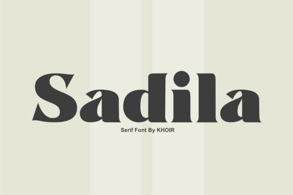 Sadila Font