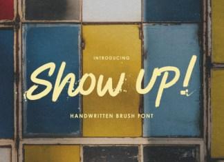 Show Up! Font