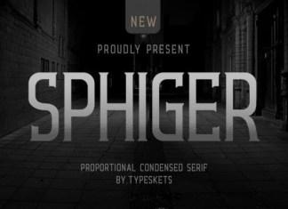 Sphiger Font