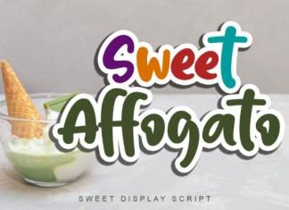 Sweet Affogato Font