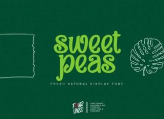 Sweet Peas Font