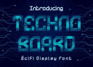 Technoboard Font
