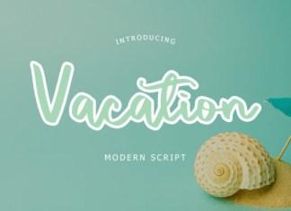 Vacation Font