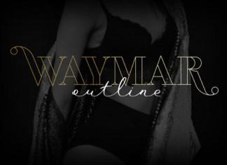 Waymar Outline Font