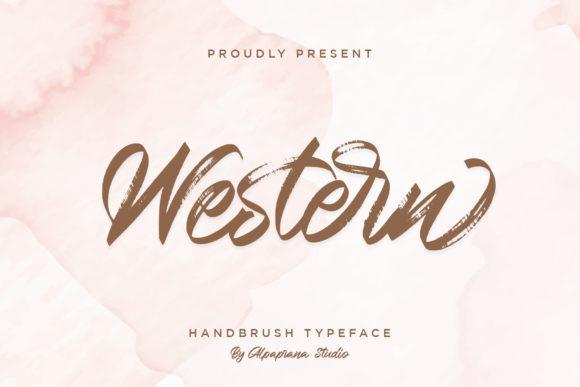 Western Font