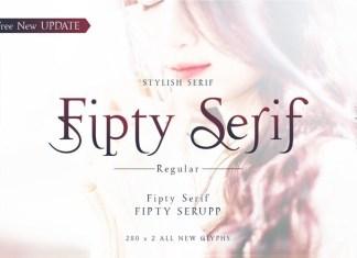 Fipty Serif Font