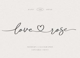 Love Rose Font