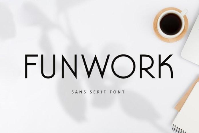 Funwork Font