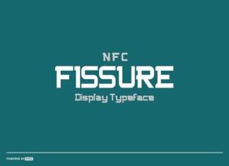NFC FISSURE Font