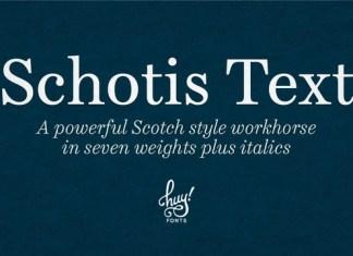 Schotis Text Font