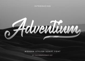 Adventium Font