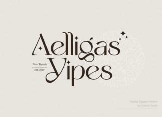 Aelligas Yipes Font