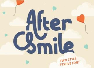 After Smile Font