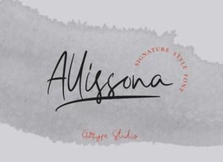 Allissona Font