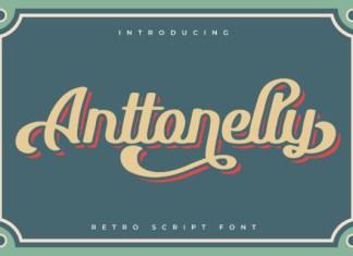 Anttonelly Font