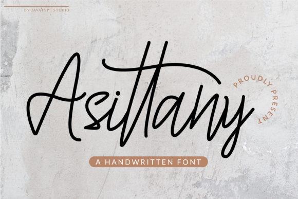 Asittany Font