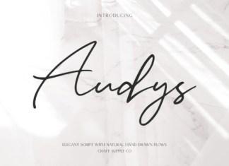 Audys Font