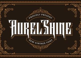 Aurel Shine Font