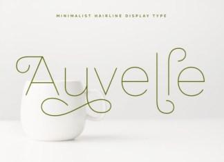 Auvelle Font