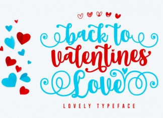 Back to Valentine Love Font