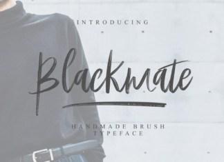 Blackmate Font