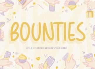 Bounties Font