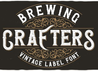 Brewing Crafters Font