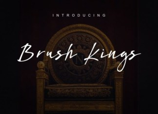 Brush Kings Font