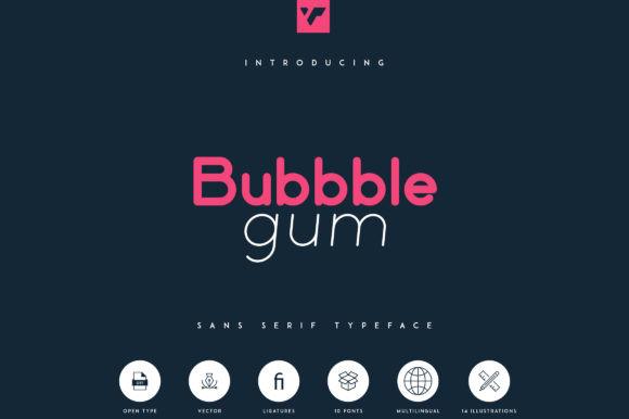 Bubbble Gum Font