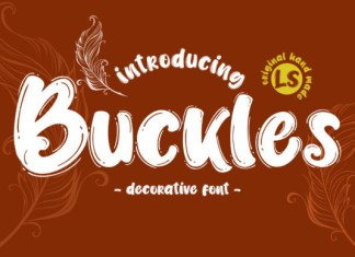 Buckles Font