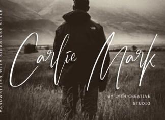 Carlie Mark Font