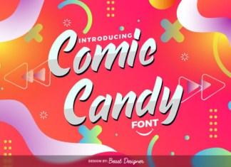 Comic Candy Font