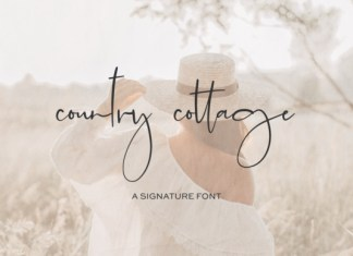 Country Cottage Font
